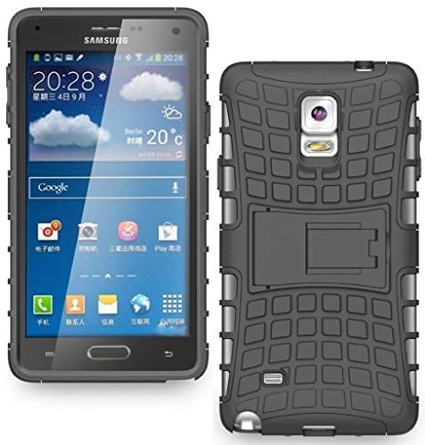 FABZONE Back Cover for Samsung Galaxy Note 3 Neo Back Cover Hybrid Kick Stand Case – Black