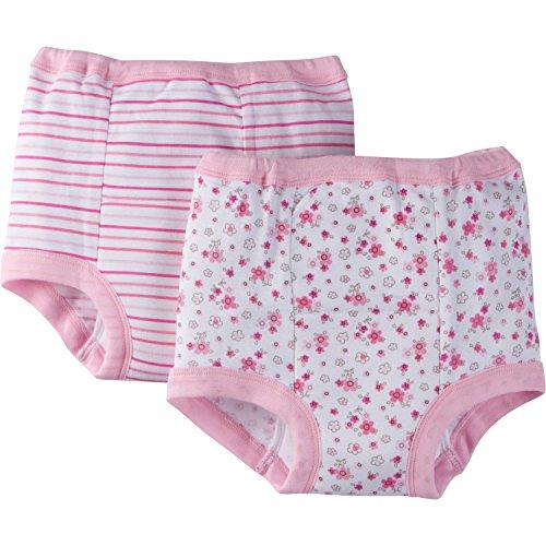 Gerber Mädchen 4 Pack Training Pants Trainingsunterwäsche - Rosa - -
