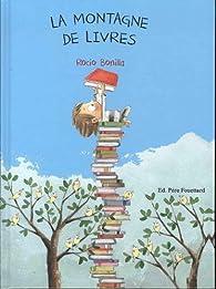 La montagne de livres par Bonilla