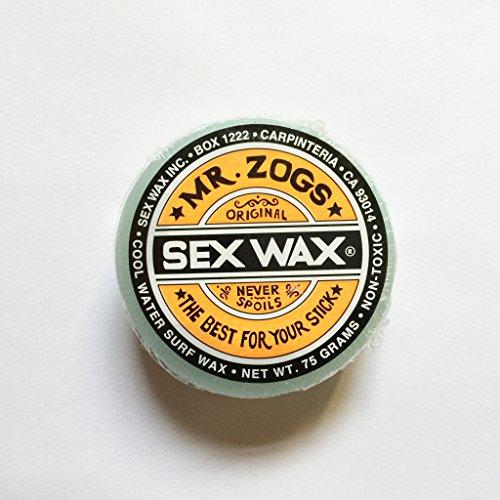 Sex Wax Original Surf Wake Kite Wachs–Cool, blau