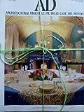 eBook Gratis da Scaricare AD Architectural Digest Rivista Internazionale di Arredamento ed Architettura Le piu belle case del Mondo Anno V 1985 (PDF,EPUB,MOBI) Online Italiano