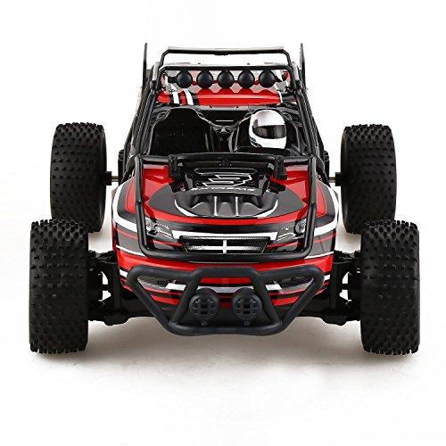 Creine Ferngesteuertes Auto Spielzeugauto mit Fernbedienung Elektrische RC Auto Buggy Truggy Spielzeug für Kinder