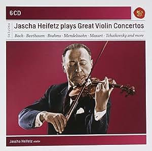 Jascha Heifetz Plays Great Violin Concertos