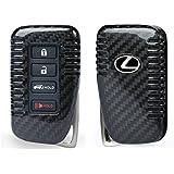 FancyAuto Hülle für 4-Tasten Autoschlüssel Keyless Schlüssel Schutzhülle Schlüsselhülle Cover Auto für Lexus CT...
