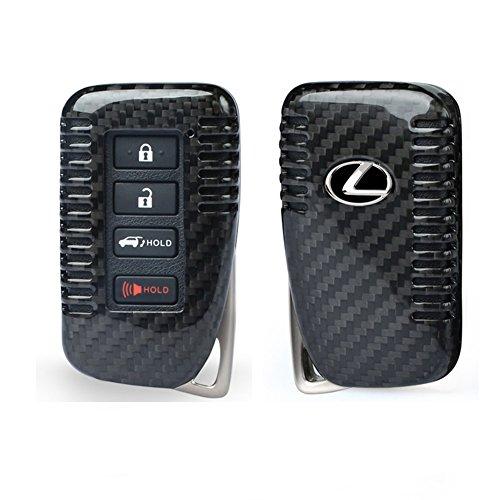 r 4-Tasten Autoschlüssel Keyless Schlüssel Schutzhülle Schlüsselhülle Cover Auto für Lexus CT is ES GS RX GX ()