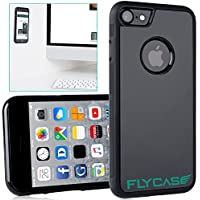 FLYCASE® [ iPhone-7 / iPhone-8 Anti-Gravity-Hülle ] Anti-Schwerkraft-Schutzhülle Selbstklebende Nano-Technologie | PERFEKTE PASSFORM | Goat-Case Anti-Slip Selfie-Hülle FlyCase iPhone 7 / iPhone 8
