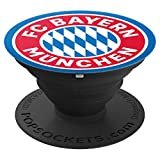 FC Bayern München Logo - PopSockets Ausziehbarer Sockel und Griff für Smartphones und Tablets