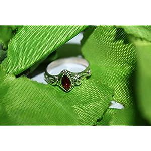 Garnet January Birthstone Ring for Womens