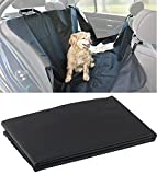 Sweetypet Hundedecke fürs Auto: Auto-Schondecke für Hunde, für Rückbank & Kofferraum, 145 x 145 cm (Rücksitzdecke für den Hund)