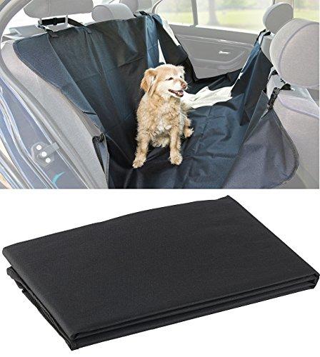 Sweetypet Autodecke für Hunde: Auto-Schondecke für Hunde, für Rückbank & Kofferraum, 145 x 145 cm (Rücksitzdecke für den Hund)