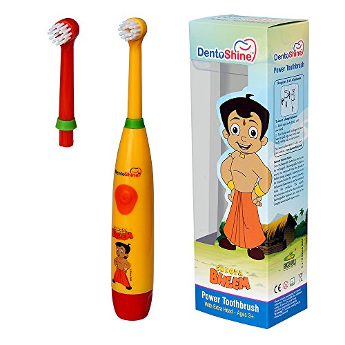 DentoShine Power Toothbrush for Kids (Chhota Bheem)