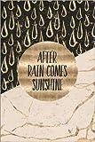 Posterlounge Alu Dibond 80 x 120 cm: Graphic Art After Rain Comes Sunshine von Melanie Viola