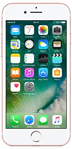 Apple iPhone 7 Smartphone (11,9 cm (4,7 Zoll), 256GB interner Speicher, iOS 10) rose-gold