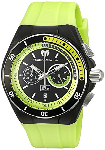 TechnoMarine TM-115160 - Reloj de cuarzo para hombres, color verde
