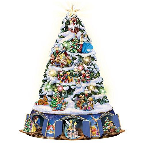 Die Magie von Disney - Beleuchteter Weihnachtsbaum mit über 25 Disney®-Figuren und Bewegung.