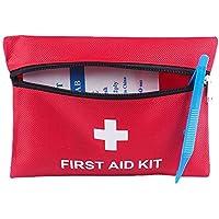 Topdo Kit de Primeros Auxilios al Aire Libre de 13 Piezas para el Kit de Primeros Auxilios de Emergencia portátil para la Aventura al Aire Libre en el hogar