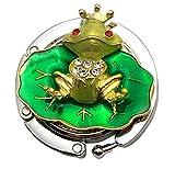pengmma rana plegable bolso gancho soporte para Lady (verde)