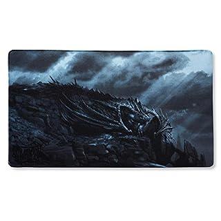 Arcane Tinmen APS ART21527Dragon Play Mat Slate–Dragon Shield Escota Rox