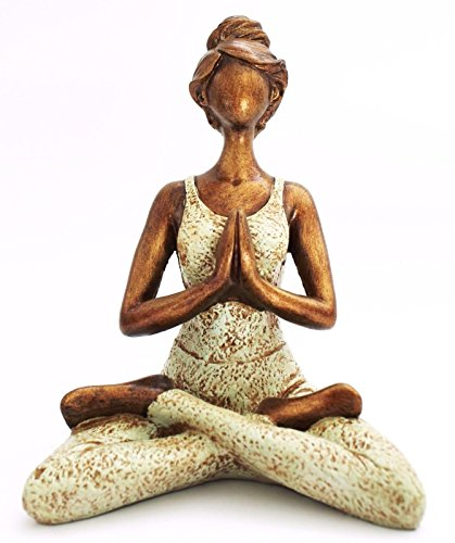 Meditiert Gargoyle Yoga Figur Drache