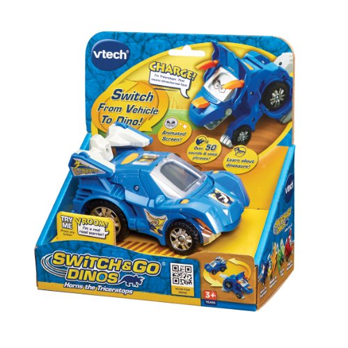 Image of VTech Switch & Go Dinos: Horns the Triceratops