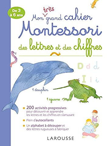 Mon très grand cahier Montessori