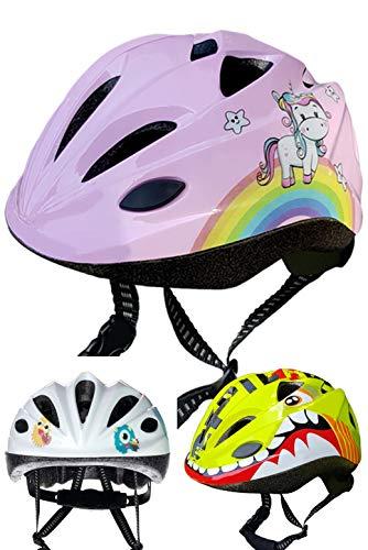 Skullcap® Fahrradhelm für Kinder ♥ von Kindern gestaltet von Profis gebaut, ♥ Einhorn
