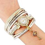 Best Bracelet For Girlfriends - Shining Diva Fashion Luxury Watch Bracelet Gold Plated Review