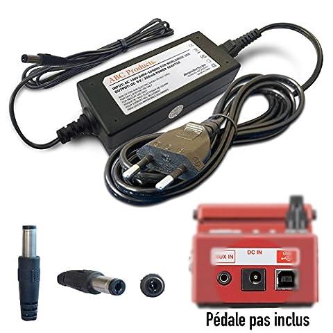 ABC Products® Remplacement Boss / Roland PSU 9V / 9 Volt / 200 Mah Adaptateur Secteur Mur Cable / Alimentation avec interrupteur PSA-230ES, PSA-230S, PSA-240 Pour sélectionner Pédale / Pedal (Modèles énoncés ci-dessous) 3 mètres de long câble