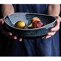 AGECC Cuenco De Cerámica Con Forma De Retro Creative Ensaladera De Frutero Home Comer Un Plato De Sopa
