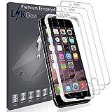 L K [3 Stücke Schutzfolie Panzerglas für iPhone 6 Plus/6S Plus, [9H Härte] [2.5D Abgerundete] [Ausrichtungsrahmen Einfache Installation] Gehärtetem Glas Displayschutzfolie