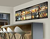 Apalis WTD 40961 Leinwandbild No.16 Drink Lovers' Bar 120 x 40 cm