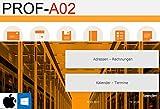 PROF-A02mw GoBD Rechnungsprogramm Angebote Rechnungen Lieferscheine Gutschriften Artikel Arbeitsleistung Produkte Kunden Apple Mac & Windows