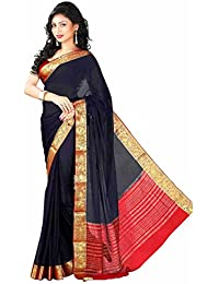 Roopkala Silks & Sarees Chiffon Saree (Ds-232_Navy Blue)