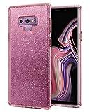 """Spigen Liquid Crystal Glitter 16,3 cm (6,4"""") Étui Rose Transparent pour téléphones Portables (étui, Samsung, Galaxy Note 9, 16,3 cm (6,4""""), Rose, Transparent)"""