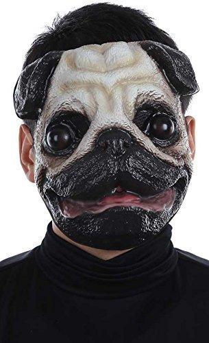 nd Animal Halloween Fest Kostüm Kleid Outfit Maske (Halloween-kostüme Für Mops Hunde)
