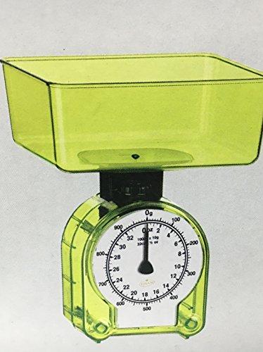 Tudor M02553 Bilancia Cucina Meccanica, Verde Acqua