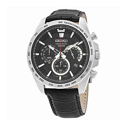 Orologio nero da uomo Seiko Neo Sport SSB305P1