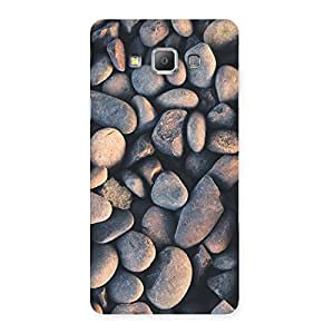 NEO WORLD Remarkable Dark Stone Back Case Cover for Galaxy A7
