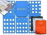 Premium Faltbrett für Kleidung + Gratis Wäschenetz von KAVALO im Set - Der robuste Wäschefalter ist eine enorme Falthilfe zum Wäsche zusammenlegen (56 cm x 66 cm)