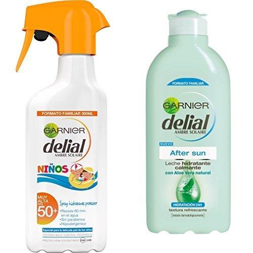 Garnier Delial Spray Protector Niños IP50 Leche Hidratante
