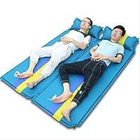 Oaghl automatico gonfiabile esterno tappeti/umidità/esteso/ispessimento, Blue, 190*68*3.5cm