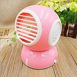 Miaoge Tragbar Duft Lüfter USB Mini kleiner elektrischer Ventilator Kühlung Parfüm Klimaanlage Fan kein Blatt Lüfter 115*135*115mm