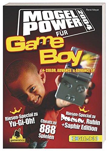 Mogel Power 2004 für Game Boy, Game Boy Color, Game Boy Advance (SP): Riesen-Special zu Pokémon Rubin + Saphir, Riesen-Special zu Yu-Gi-Oh! (Pokemon Gameboy Advance Sp Spiele)