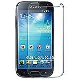 [2 Stück] CÄSAR-GLAS Panzerglas Schutzglas für Samsung Galaxy S4 Mini, Anti-Kratzen, Anti-Öl, Anti-Bläschen, 9H Echt Glas Panzerfolie Schutzfolie