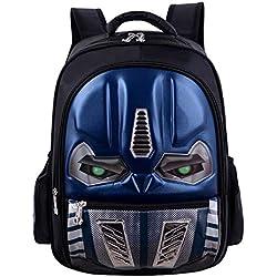 Enfant Fille Sac à Dos garçons Sac de Voyage Sac à Dos étanche Transformers 3D imprimé Sac à Dos école pour Enfants Sac Camping randonnée