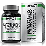 Phytoceramides - 40mg Ceramides - Phytoceramide with Added Vitamin A C D E - Derived from Rice for Women and Men - Suitable for Vegetarians - 30 Capsules (30 Day Supply) by Earths Design