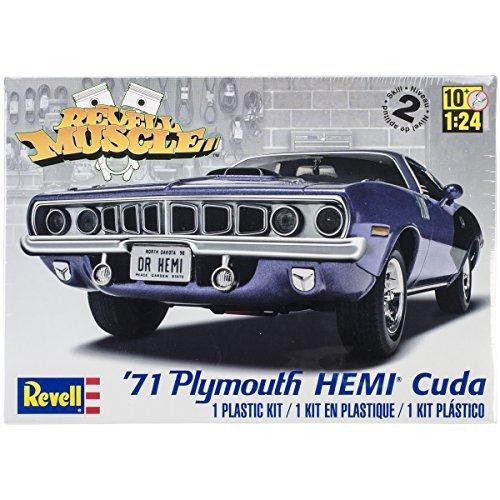 plastic-model-kit-71-plymouth-hemi-cuda-hardtop-125-by-revell