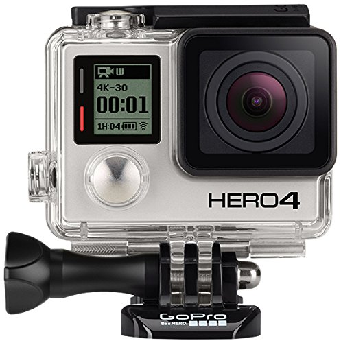 GoPro HERO4 Black Edition Motorsport - Videocámara deportiva (12 Mp, Wi-Fi, Bluetooth, sumergible hasta 40 m), (versión italiana)