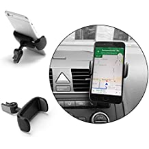 THEVERY® - Supporto smartphone per bocchette di aerazione - Cruscotto Cellulare Smartphone Auto Veicoli a motore Vetture Fissaggio Supporto Sostegno automobile