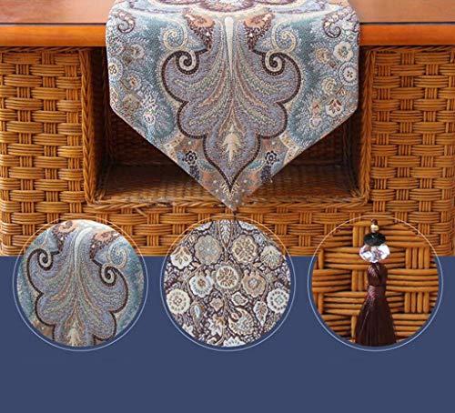 FUWUX Home Tischläufer tischläufer tischdecken Tuch (Color : A)